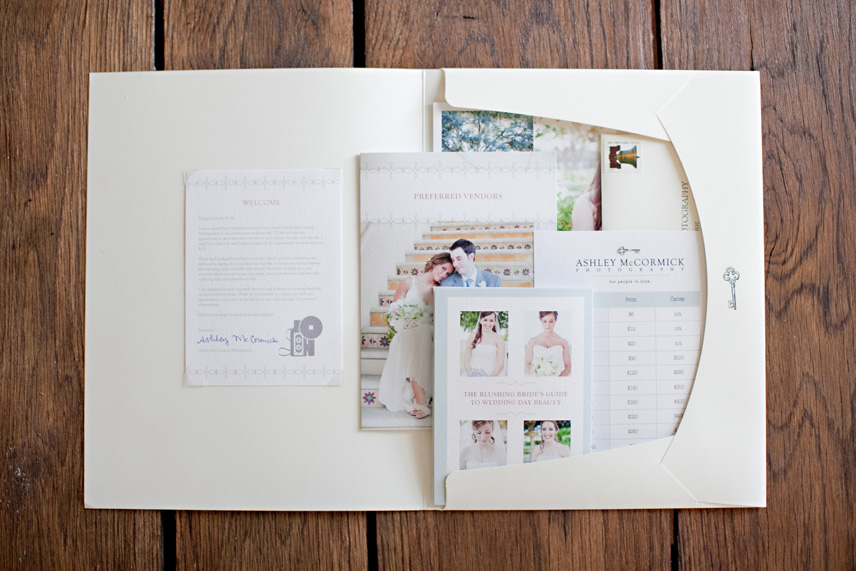 Wedding Photography Welcome Packet