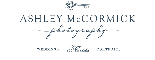 Orlando Wedding and Portrait Photographer Ashley McCormick Photography logo