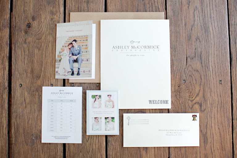 Clockwise From Top Left Welcome Folder Print Canvas Price Sheet Bridal Beauty Guide Brown Envelope It All Fits In Wedding Contract Promo